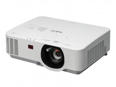 Projektor, NEC P554W, LCD, WXGA (1280x800) felbontás, 16:10 képarány
