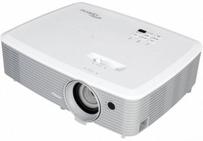 Projektor, Optoma W400+, DLP, WXGA (1280x800) felbontás, 16:10 képarány, Hordozható