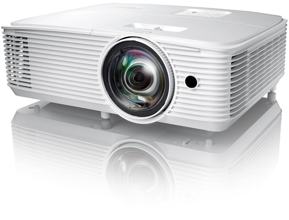 Projektor, Optoma HD29HST, DLP, HD1080 felbontás, 16:9 képarány, Házimozis