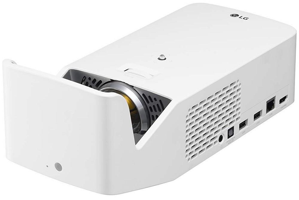 Projektor, LG HF65LSR, DLP, LED, HD1080 felbontás, 16:9 képarány, Hordozható, Házimozis