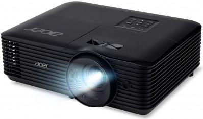 Projektor, Acer X1227i, DLP, XGA (1024x768) felbontás, 4:3 képarány, Hordozható