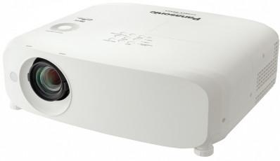 Projektor, Panasonic PT-VZ585NEJ, LCD, WUXGA (1920x1200) felbontás, 16:10 képarány