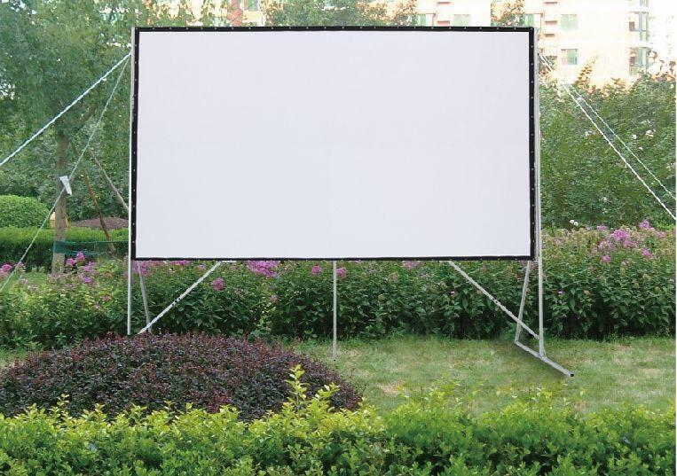 Vászon, FunScreen FastFold, 229 x 305 cm vászonméret, 4:3 képarány, Hordozható, Állványos
