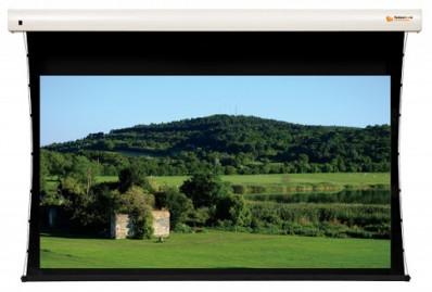 Vászon, FunScreen Premium Plus PT Tensioned Motor, 142 x 260 cm vászonméret, 16:9 képarány, Házimozis, Motoros